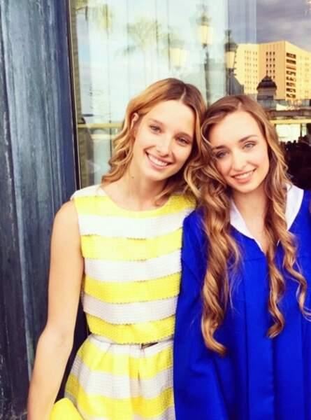 Saurez-vous reconnaître qui sont leurs très célèbres pères : Emma et Ilona sont les filles de...