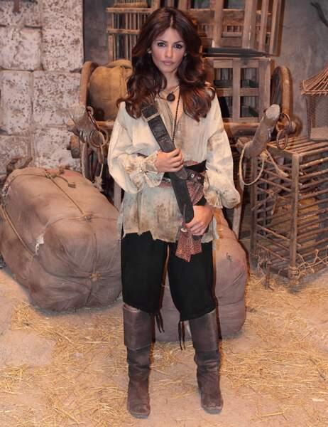 Monica Cruz, la doublure corps de Penélope (elle était enceinte pendant le tournage)