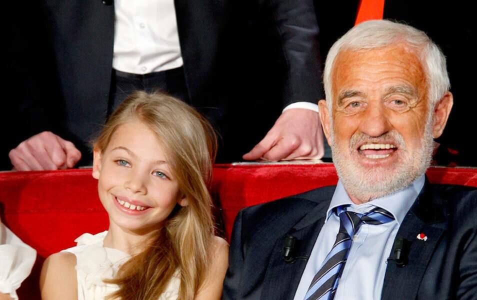 Stella et Jean-Paul Belmondo