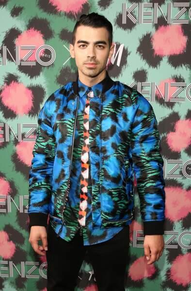 Défilé Kenzo x H&M : Joe Jonas