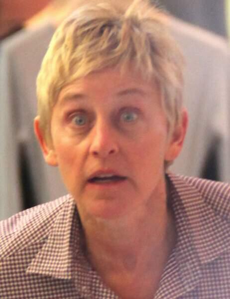 Ellen DeGeneres dans une boutique