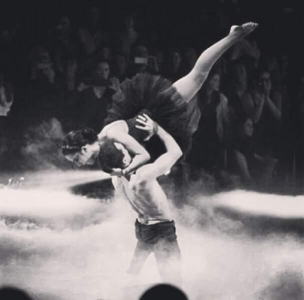 De beaux moments sur scène
