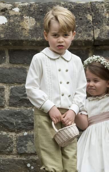 Anniversaire du Prince George - Très dissipé, il se fera gronder par sa mère pour avoir chahuté