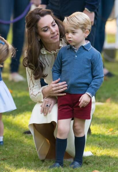 Anniversaire du Prince George - Le petit prince s'est mis tout le pays dans la poche en 2 secondes
