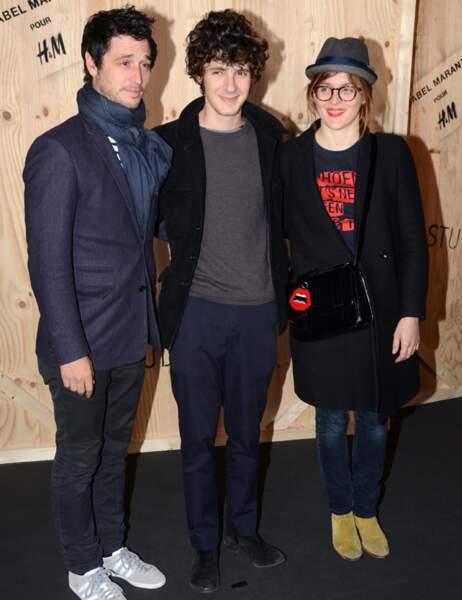 Jérémie Elkaïm, Vincent Lacoste et Valérie Donzelli