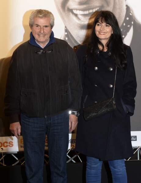 Claude Lelouch et sa femme
