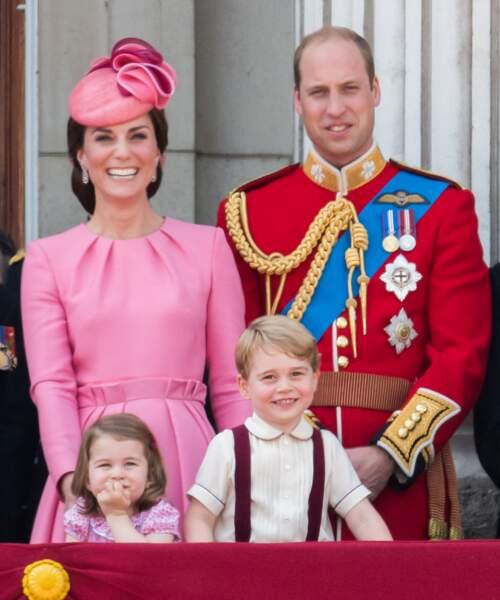 Anniversaire du Prince George - C'est en famille qu'il profite de la fête nationale en juin 2017