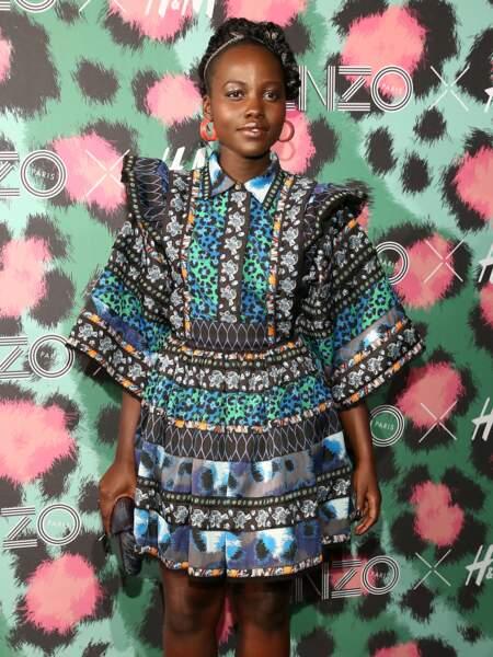 Défilé Kenzo x H&M : Lupita Nyong'o