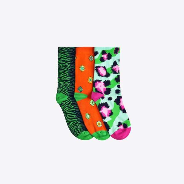Kenzo x H&M : chaussettes, 24,99€