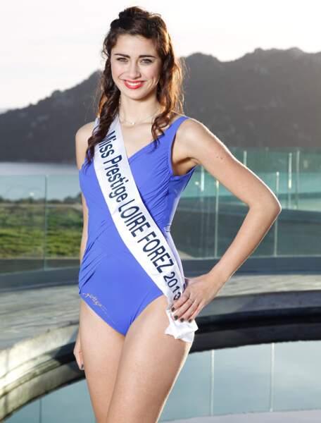 Rebecca PLANCHE, Miss Prestige Loire Forez