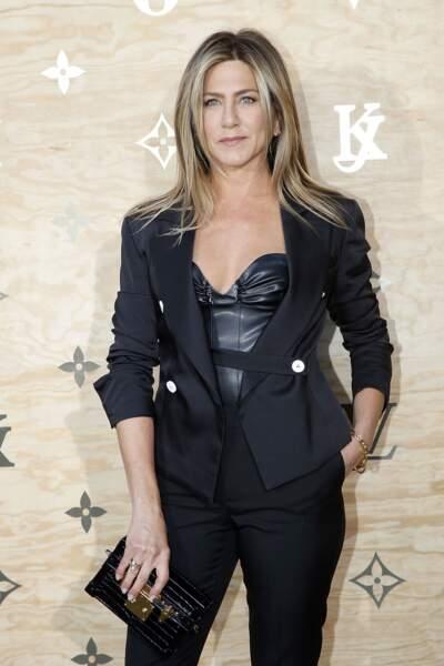 Soirée Louis Vuitton x Jeff Koons au Louvre : Jennifer Aniston