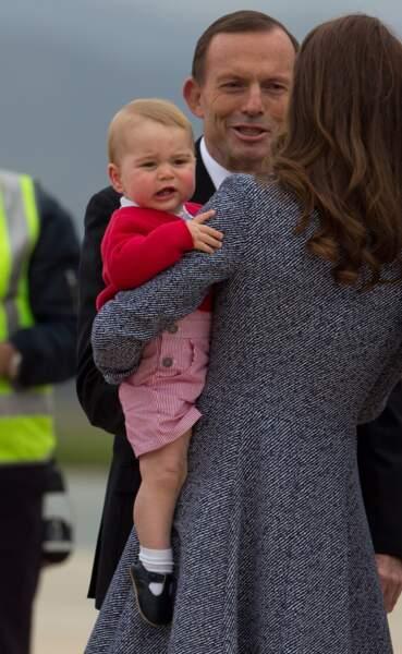 Anniversaire du Prince George - Et les voyages officiels des fois c'est pénible