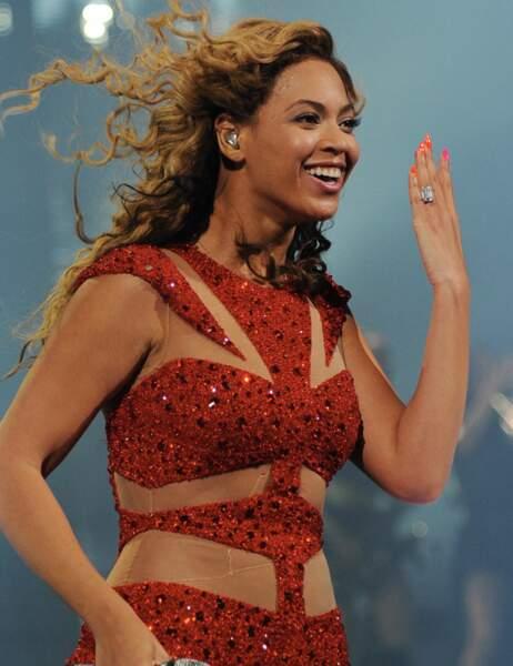 Et notre grande gagnante : Beyoncé...