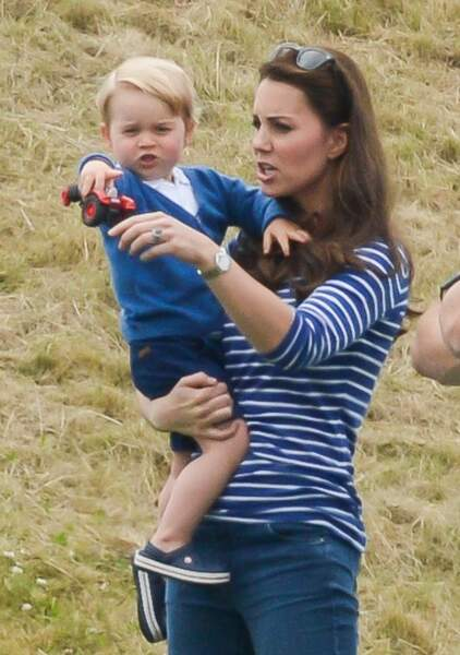 Anniversaire du Prince George - Kate et George vont soutenir William à un match de polo (eh oui encore)