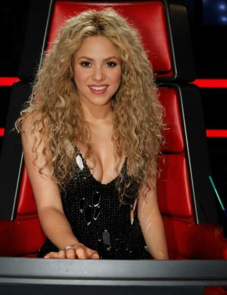 En 2013, Shakira a remplacé Christina Aguilera le temps d'une saison...