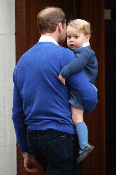 Anniversaire du Prince George - en route pour la première rencontre avec sa soeur