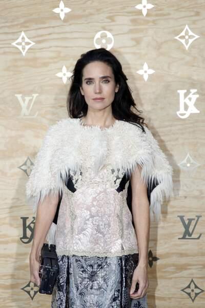 Soirée Louis Vuitton x Jeff Koons au Louvre : Jennifer Connelly
