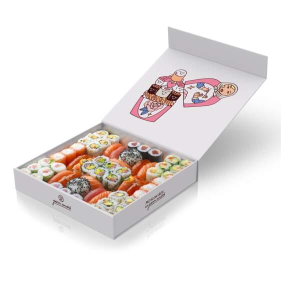 Moscow Box. By Jean André, édition limitée 58 pièces 70 €, Sushi Shop