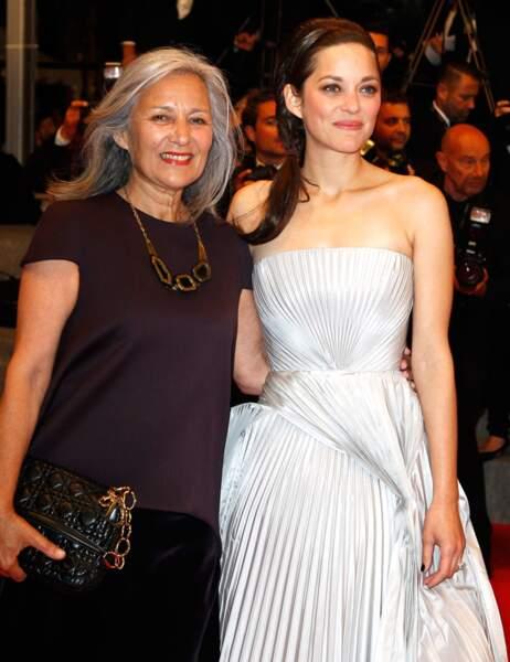 Marion Cotillard et sa maman