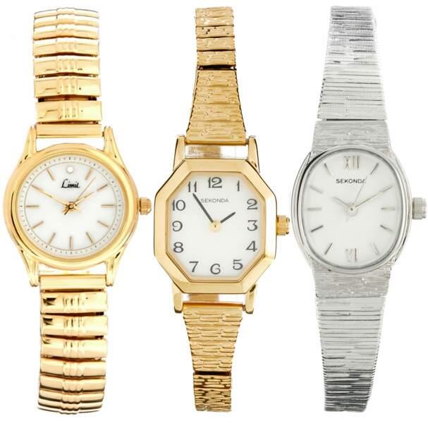 Sélection de montres vendues sur ASOS.fr à moins de 100€