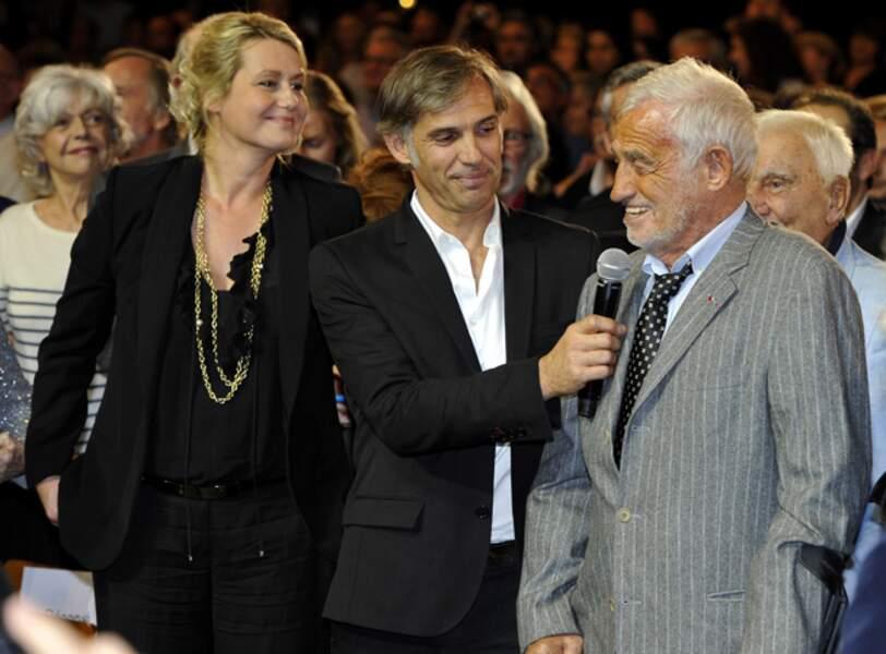 Luana, Paul et Jean-Paul Belmondo