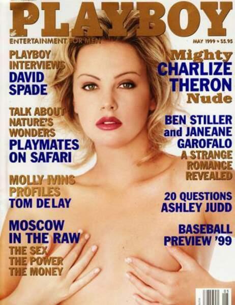 Charlize Theron en mai 1999