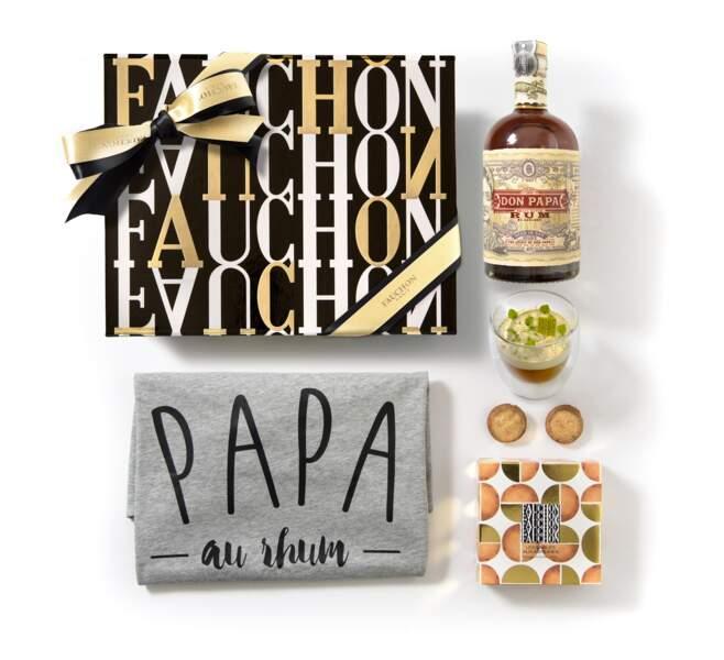 "Coffret ""Papa au Rhum"". 98 €, Fauchon"