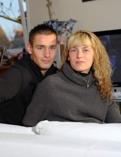 Mathieu Debuchy et sa femme Ludivine
