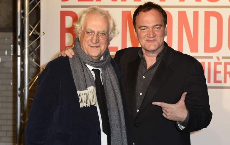 Bertrand Tavernier et Quentin Tarantino