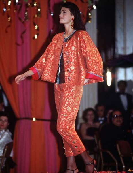 Yasmin Le Bon en 1992