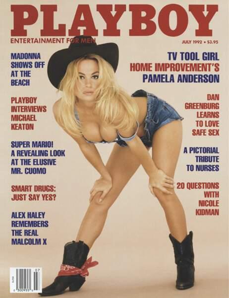 Pamela Anderson en juillet 1992