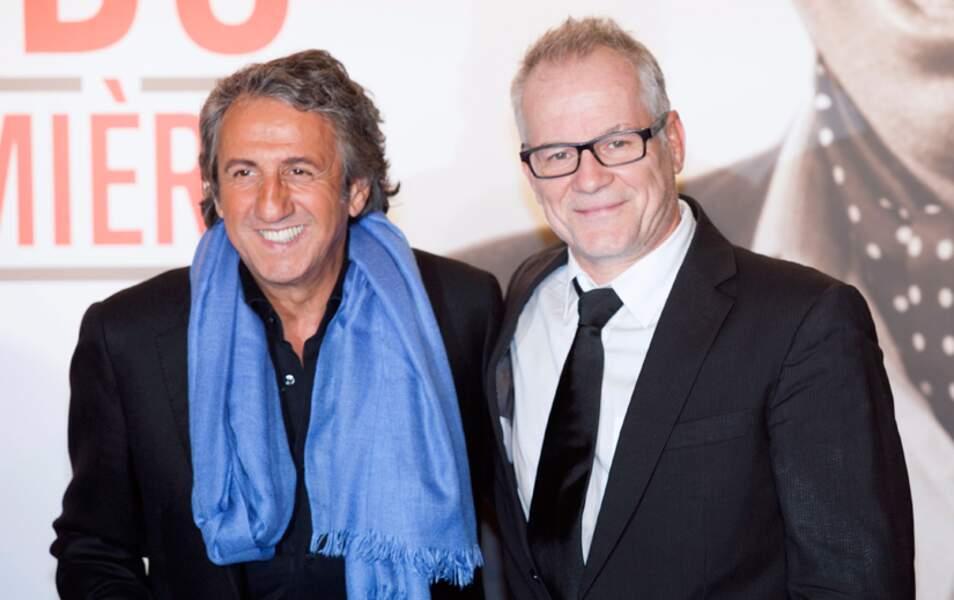 Richard Anconina et Thierry Frémaux