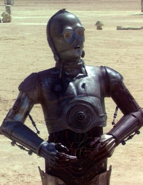 """Le robot bavard C3-PO de """"Star Wars"""" est..."""