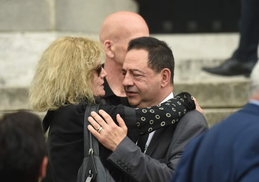 Jean-Luc Romero aux obsèques de Christophe Michel