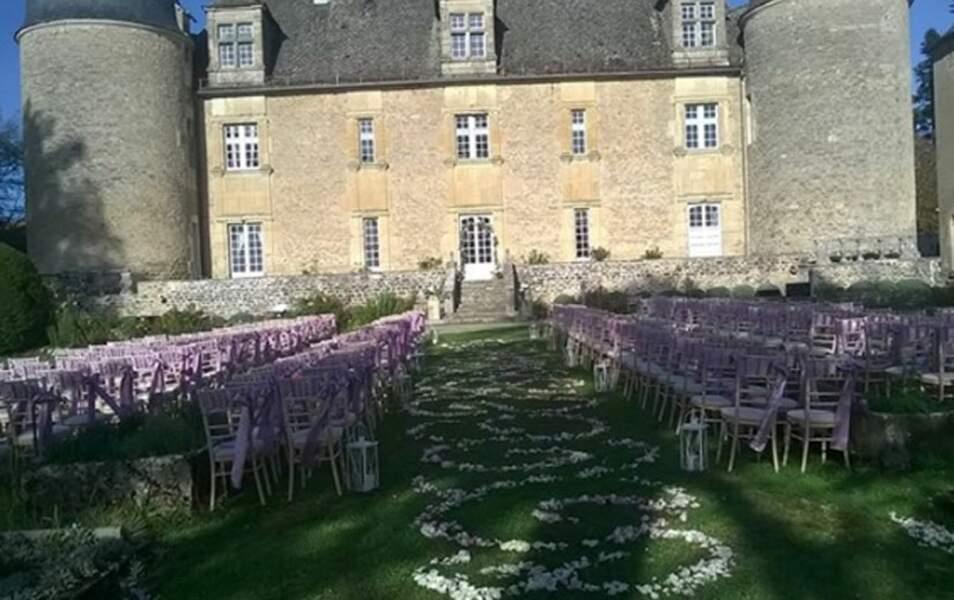 Le Château de Graves où se sont déroulées les festivités
