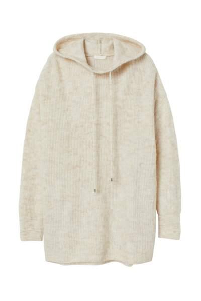 Pull à capuche, H&M Conscious, 39,99€