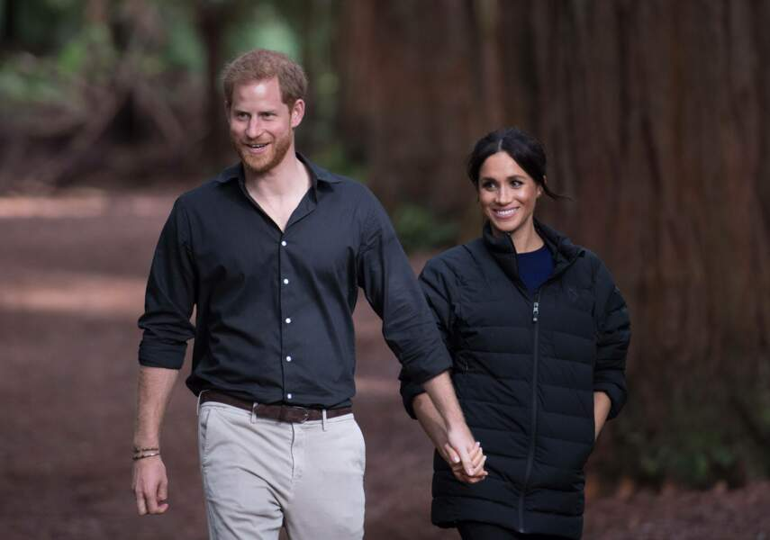 La duchesse de Sussex et le prince Harry en visite à Rotorua en Nouvelle-Zélande
