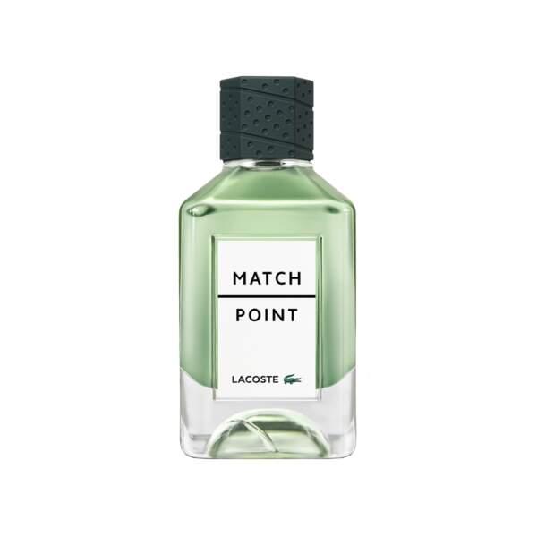Prix du Meilleur Lancement Masculin décerné par les Professionnels pour la Parfumerie Sélective : Match Point de Lacoste