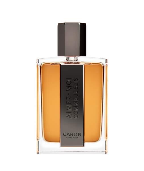 Prix du Meilleur Flacon de Parfum Masculin décerné par les Professionnels pour la Parfumerie Sélective : Aimez-moi comme je suis des Parfums Caron
