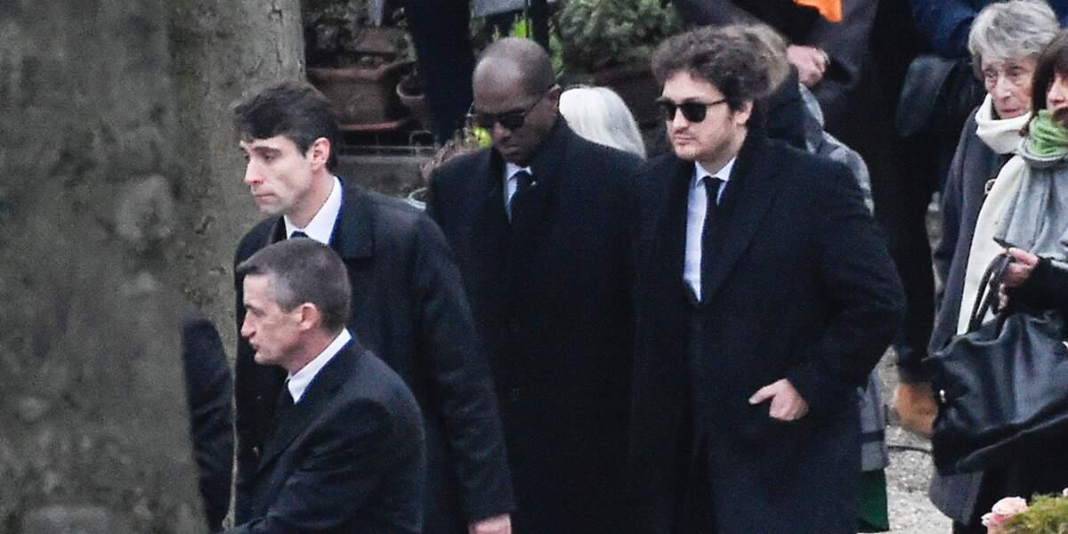 Raphaël Hamburger et Bruck Dawit unis aux obsèques de France Gall