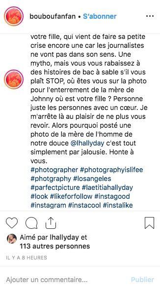 Laeticia Hallyday règle violemment ses comptes avec Nathalie Baye et Laura Smet