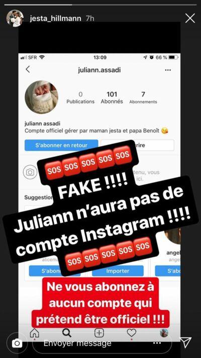 Jesta (Koh-Lanta) : son fils Juliann à peine né et déjà victime de fake news