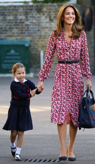 Kate Middleton : sa robe pour la rentrée des enfants, déjà vue?