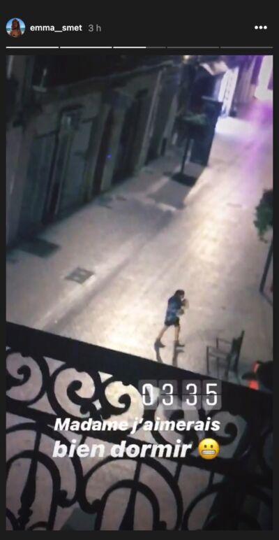 Emma Smet : réveillée en pleine nuit, elle pousse un coup de gueule sur Instagram