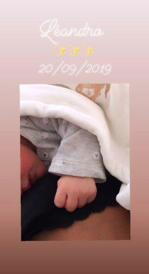 PHOTO Hugo Lloris papa pour la troisième fois : découvrez le sexe et le prénom du bébé