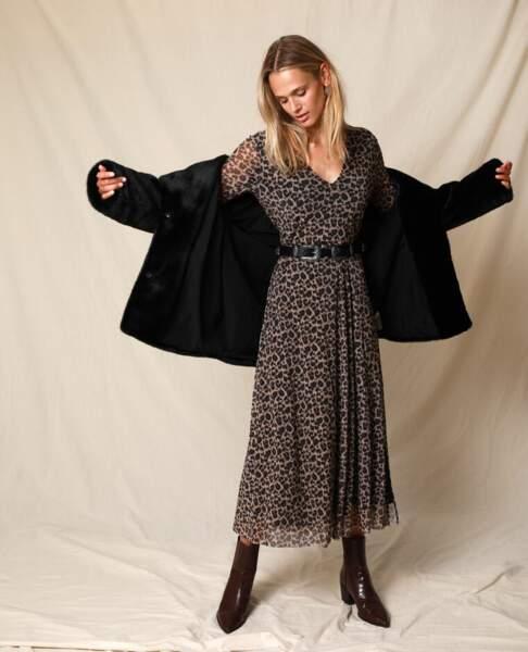 Robe longue léopard, Pimkie, 29,99€
