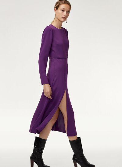 Meghan Markle : sa robe violette coûte moins de 50 euros!