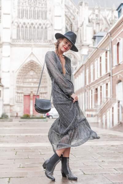 Robe longue Ariane, Pretty Wire, 44,90€