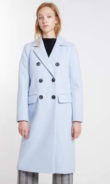 Manteau classique, River Island, actuellement à 65,95€ sur Zalando