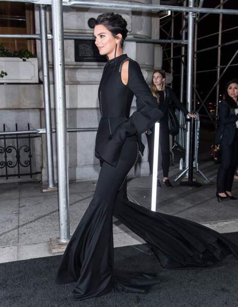 Kendall Jenner et son look surprenant